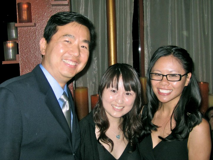 Cinematographer Tony Chiu, composer Haruna Kabo, director Marie Tang